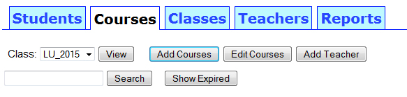 add-courses