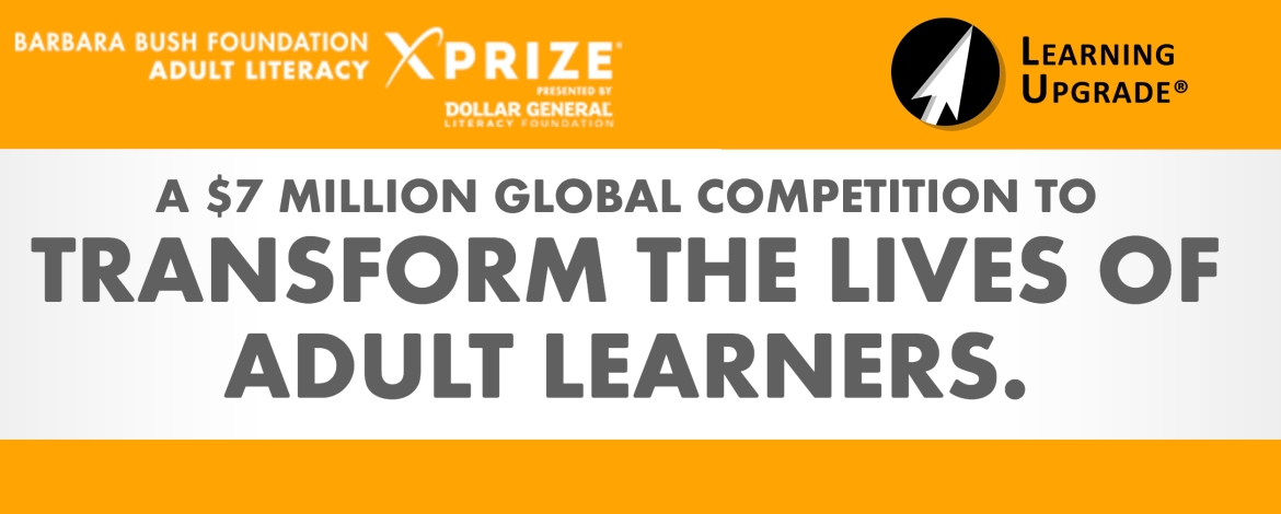 Learning Upgrade Named A Finalist For The Adult Literacy XPRIZE!